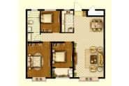 A4户型-3室2厅1卫-114.0㎡